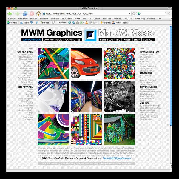 mwm2008index 600 MWMgraphics.com 2008 is LIVE!