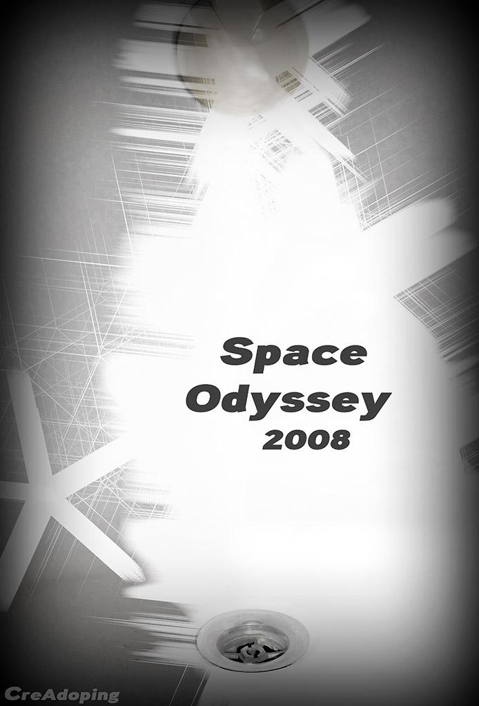 space odyssey web Kubrick´s withe tub...