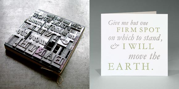 typoretum montage 2 T Y P O R E T U M :: Letterpress Greeting Cards & Social Stationery