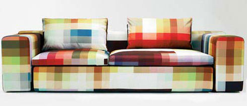 pixel couch An Amazing Collection of Sofas & Couches Like Youve Never Saw Before