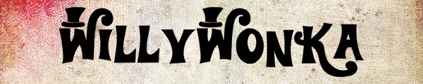 08 willywonka Free fonts from movies part 2