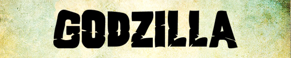 12 godzilla1 Free fonts from movies part 3