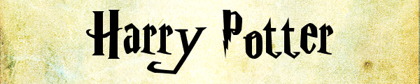 14 harry potter Free fonts from movies part 3
