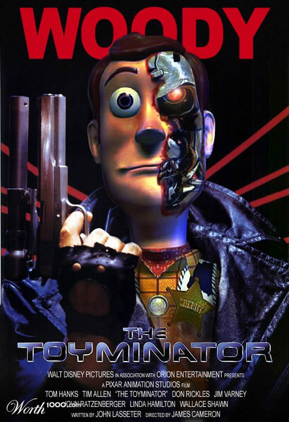 the toyminator by ccz 80+ posters of animated films diverted