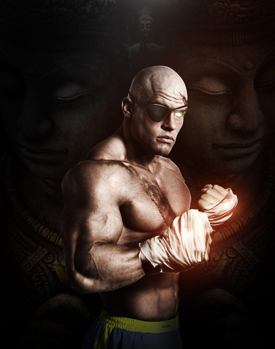 21 Sagat They Call Me The King Street Fighter Art 24 Hyper Realistic Examples of Street Fighter Art