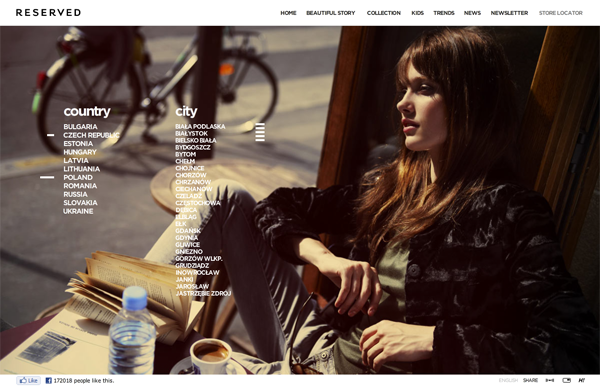 444 RESERVED // For Women, Men and Children @ 100 Best Flash Websites