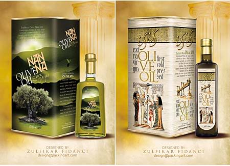 Nanna Oliveoil Packaging 2 Olive Oil Packaging