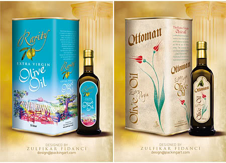 Rarity Oliveoil Packaging 1 Olive Oil Packaging