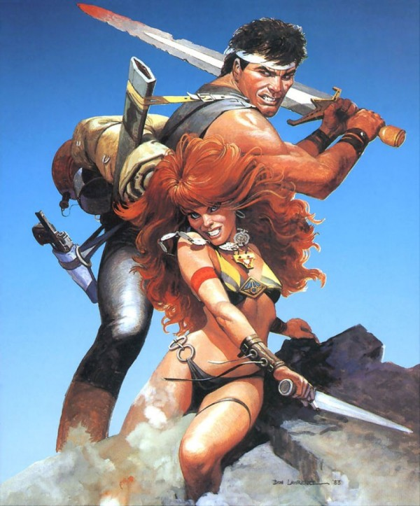 Storm and Ember by Don Lawrence 600x723 The fan tas tic art of Don Lawrence