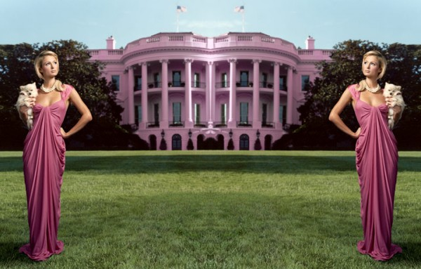 WhiteHouse Pink 600x383 White House Goes PINK for Breast Cancer