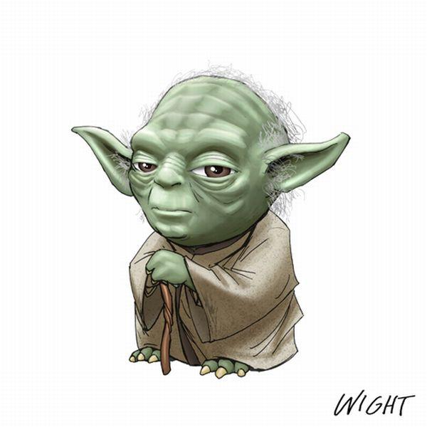 Y is for Yoda by joewight1 star wars in mini