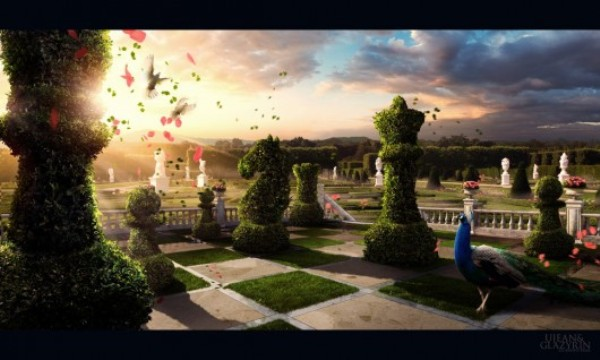 chess garden by glazyrin d2zbbc2 530x318 15 Gorgeous Matte Paintings from Digital Art Masters