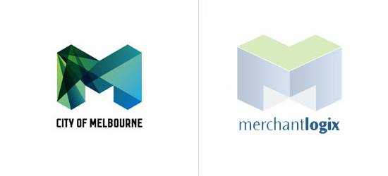 com 20 Coincidentally Identical Logos !!