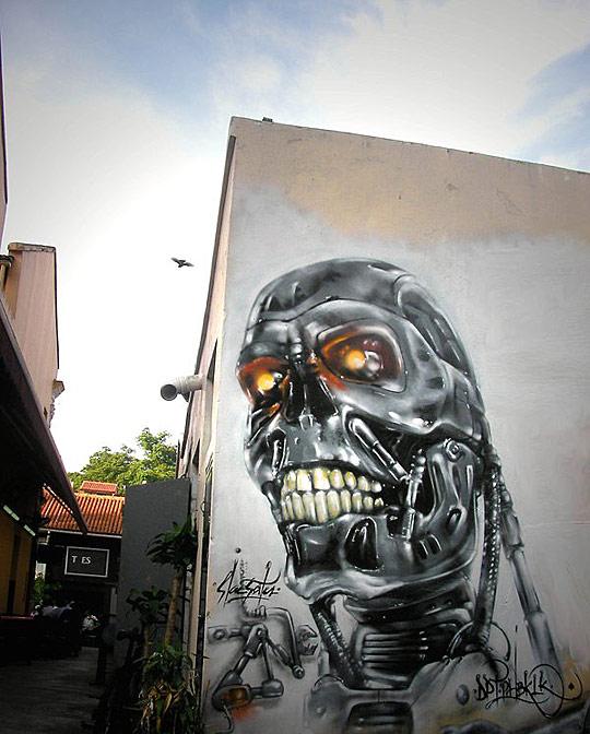 gr01 Graffiti artworks showcase