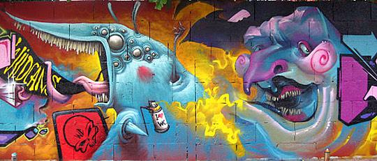 gr02 Graffiti artworks showcase