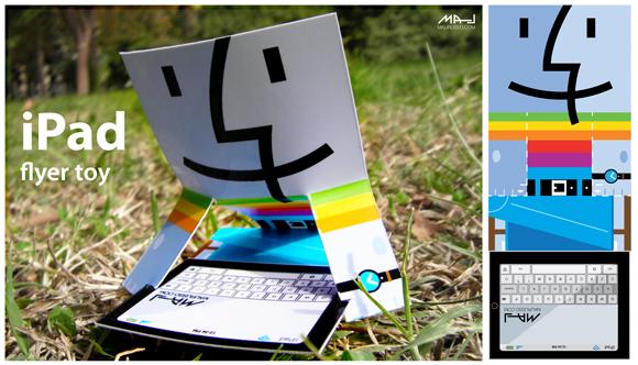 ipadflyertoy2 Ipad flyer toy
