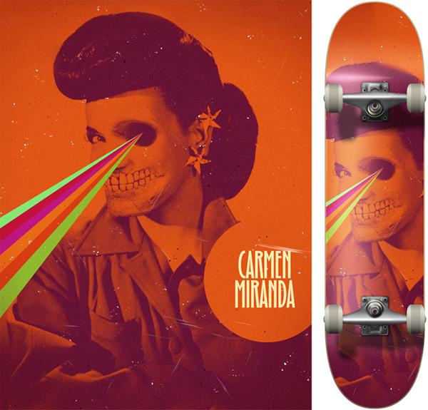 mirandacarmendeck1 Carmen rainbow Miranda