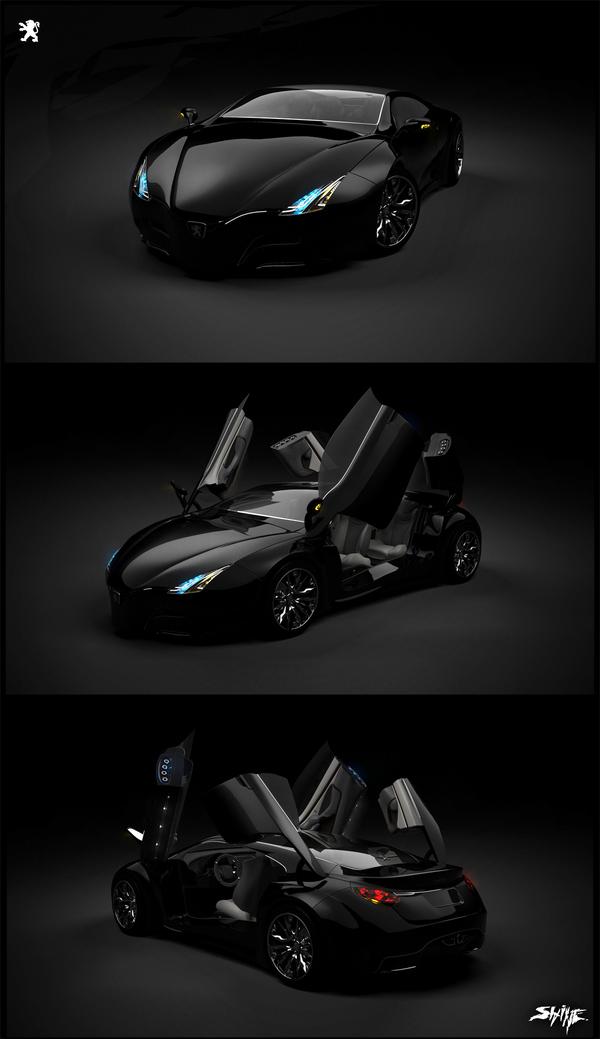 peugeot shine1 Peugeot Shine Concept Car
