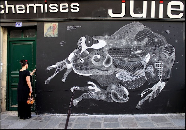 philippe baudelocque since 18 Animal Constellation Chalk Art