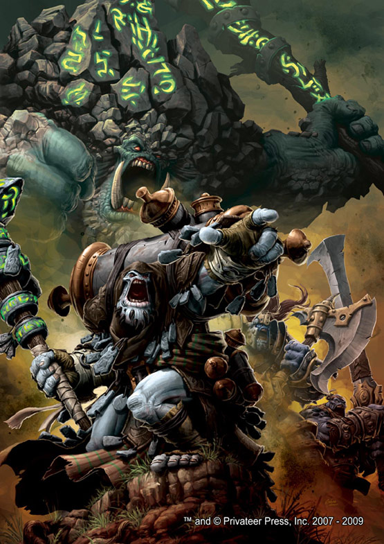 09 Trollbloods Warmachine Digital Painting Privateer Press 30 Incredible Warmachine Digital Paintings for Privateer Press