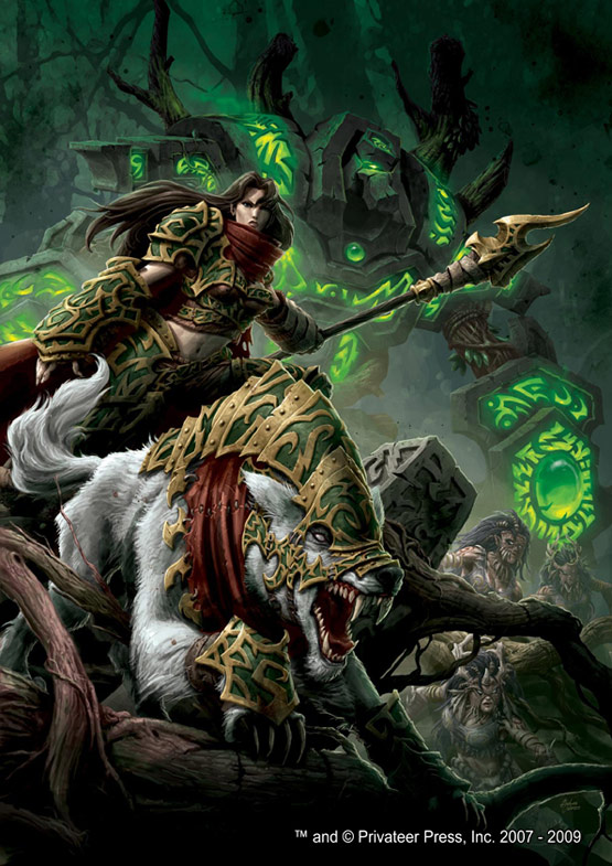 11 Circle of Orboros Warmachine Digital Painting Privateer Press 30 Incredible Warmachine Digital Paintings for Privateer Press