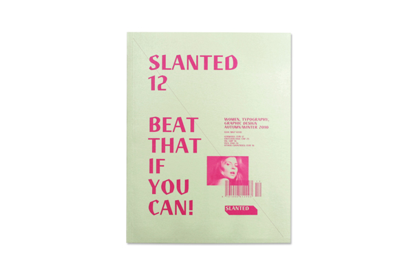 Slanted 12 white 012 Slanted 12   Woman, Typography, Graphic design