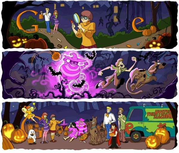 google doodles Best October Google Doodles