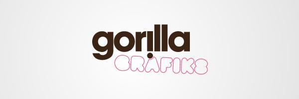 gorillagrafikslogo display Collection of work from Gorilla Grafiks