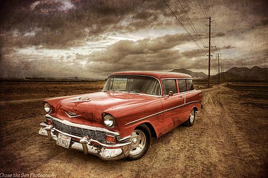 v03 Vintage cars in HDR photo showcase