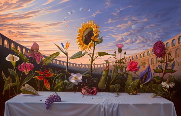 Surrealism Paintings by Vladimir Kush » Design You Trust