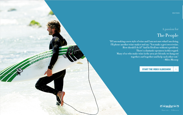 11 Wine and Surf // A Passion For Wine And For Celebrating life @100BestWebsites
