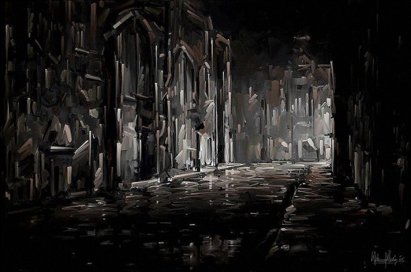 342296 600x397 Waheed Nasir Paintings