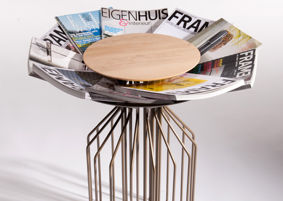 amarant1 Amarant magazine holding table by Spell