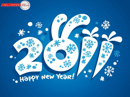 wallpapers new year. Happy New Year 2011 Wallpaper