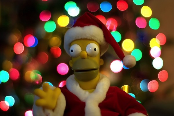 homer 600x401 20 Beautiful Examples of Christmas Bokeh