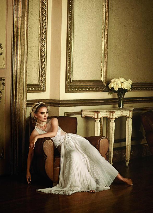 Natalie Portman by Peter Lindbergh