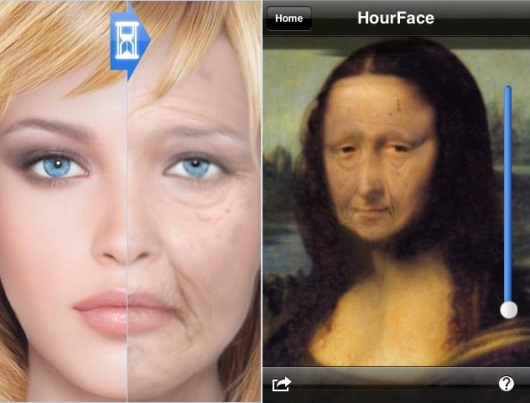 HourFace 3D Aging Photo Crazy iPhone Apps
