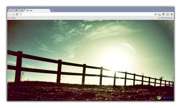 Image of the Day — Google Chrome Theme