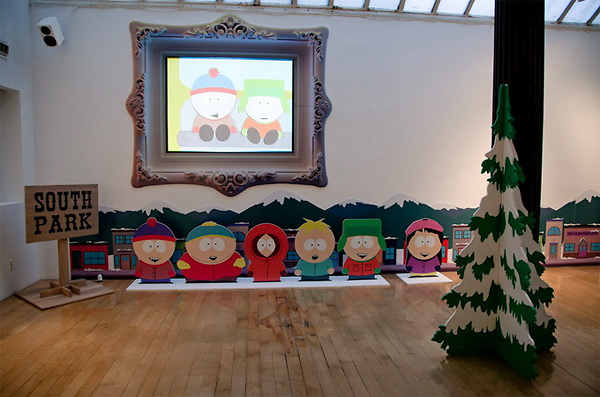 244 South Park 15th Anniversary Event in Opera Gallery New York