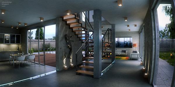 Hgamma 01 600 Hgamma house interior