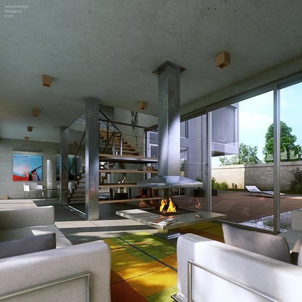 Hgamma 02 600 Hgamma house interior