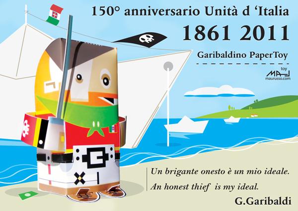 garibaldi Garibaldino   150° anniversary