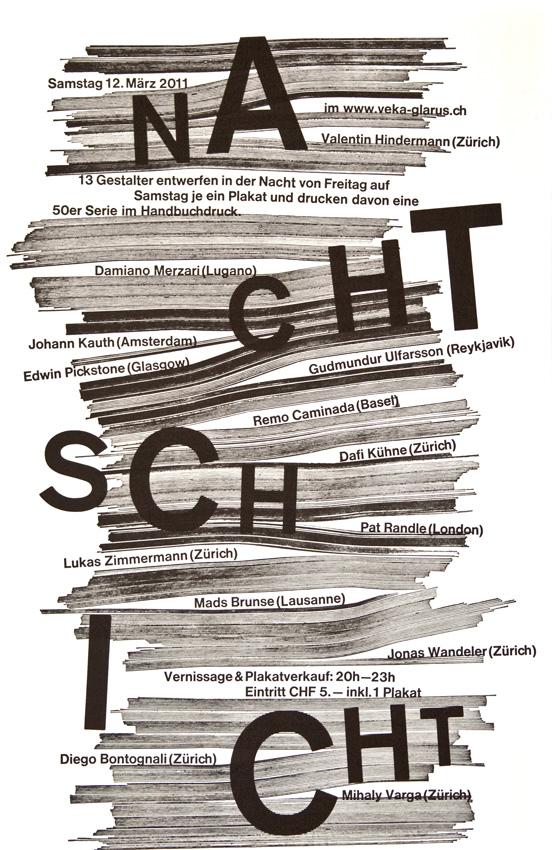nachtschicht cun6ez64hh NACHTSCHICHT   Collaborative Poster Art