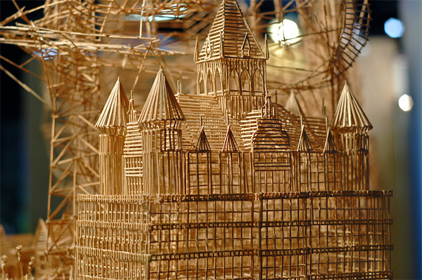 257 One man, 100,000 toothpicks, and 35 years: An incredible kinetic sculpture of San Francisco