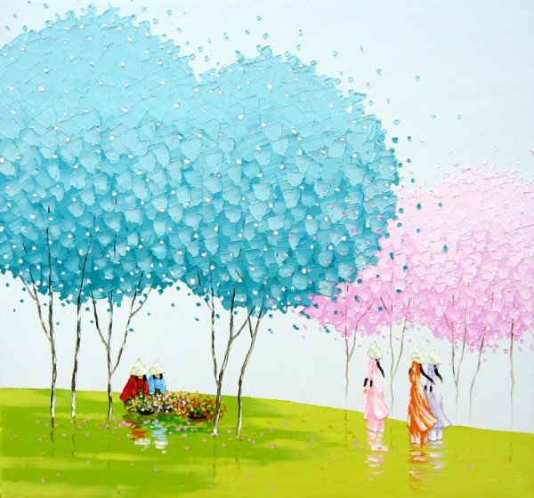 325972 600x560 Paintings by Phan Thu Trang