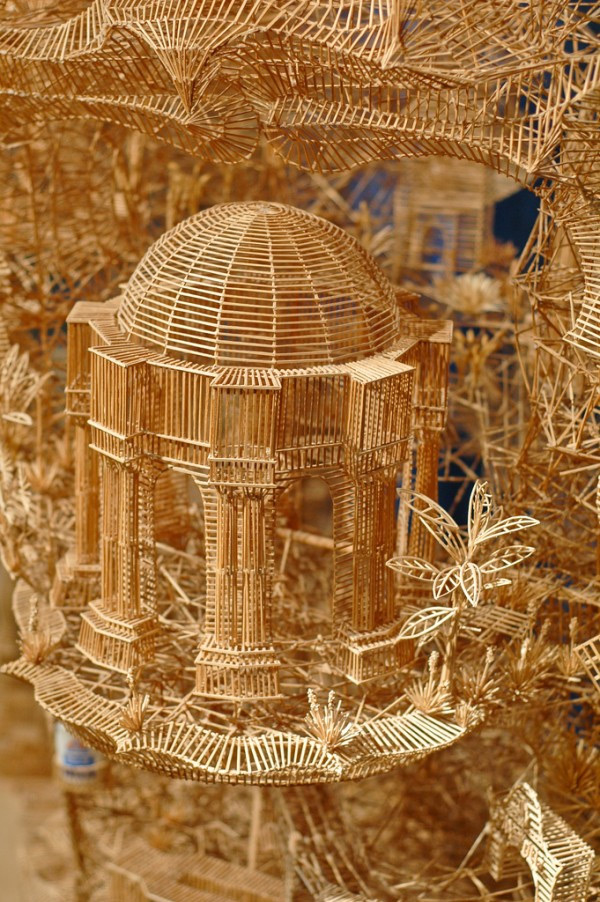 343 One man, 100,000 toothpicks, and 35 years: An incredible kinetic sculpture of San Francisco