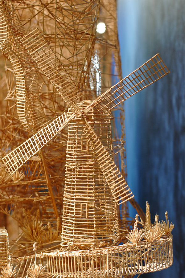434 One man, 100,000 toothpicks, and 35 years: An incredible kinetic sculpture of San Francisco
