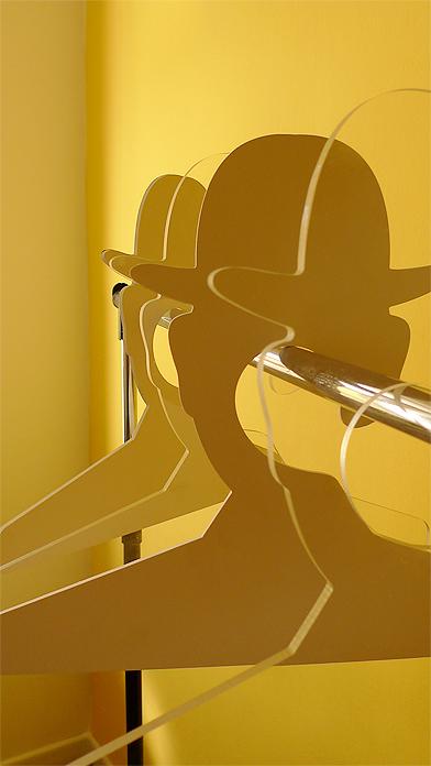 89 Coat Hanger, Inspired by Rene Magritte