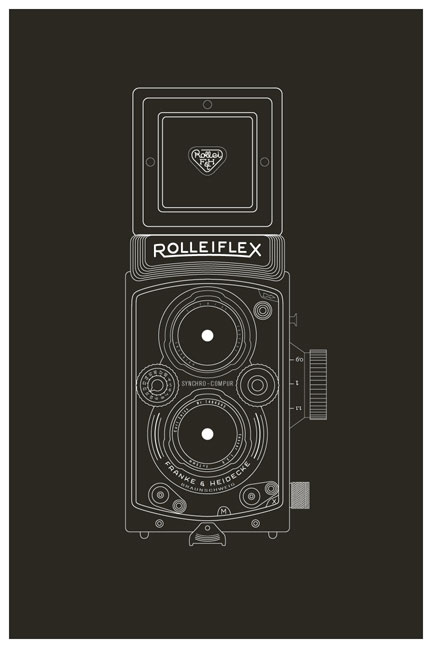 buy vector vintage camera prints