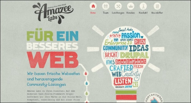 we1a 30 Unconventional Yet Awesome Web Designs
